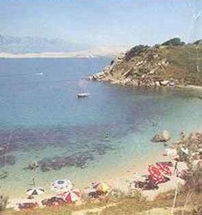 Ausflug Pag Simuni Bay